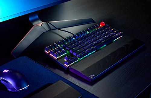 Glorious Mechanical Gaming Keyboard - Tenkeyless - LED Backlit, Brown Switches, Swap Switches