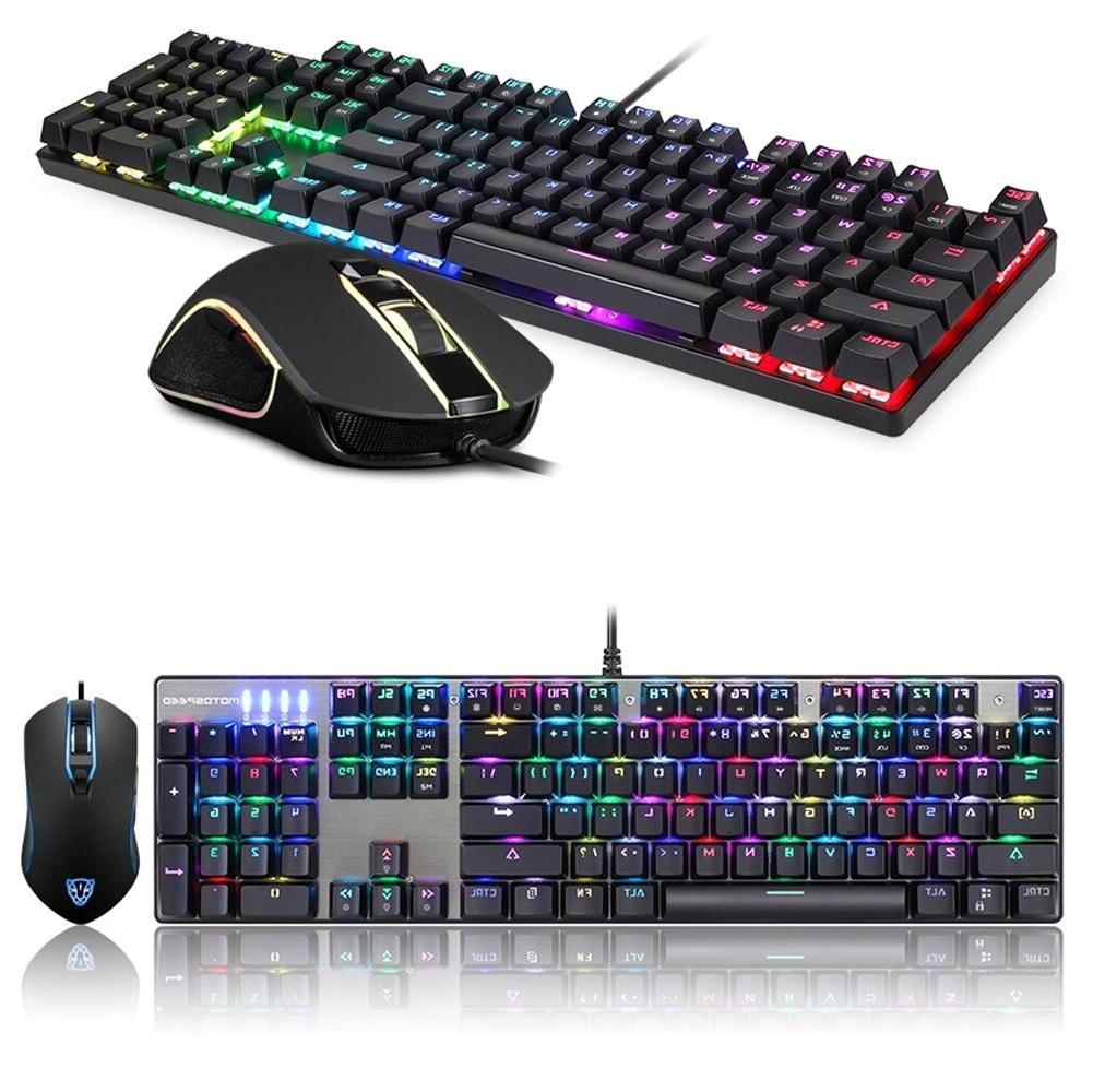 Motospeed CK888 Keyboard Mouse Combo