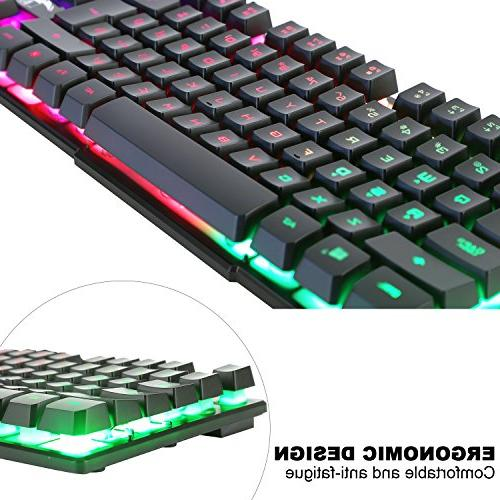 BAKTH Color LED and Mouse Combo Working or