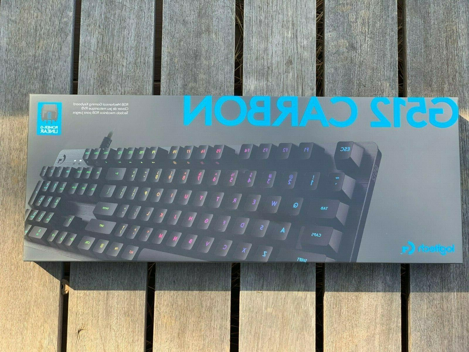 NEW! Logitech RGB Mechanical Gaming Romer-G Linear
