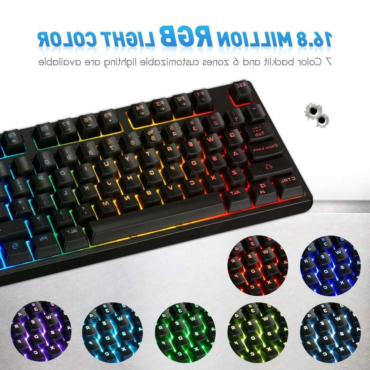 nEW VicTsing Wired Keyboard, Spill-Resistant for