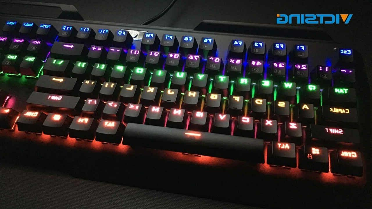 new rgb backlit wired gaming keyboard spill