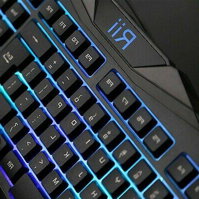 New Gaming Keyboard & Combo Bundle