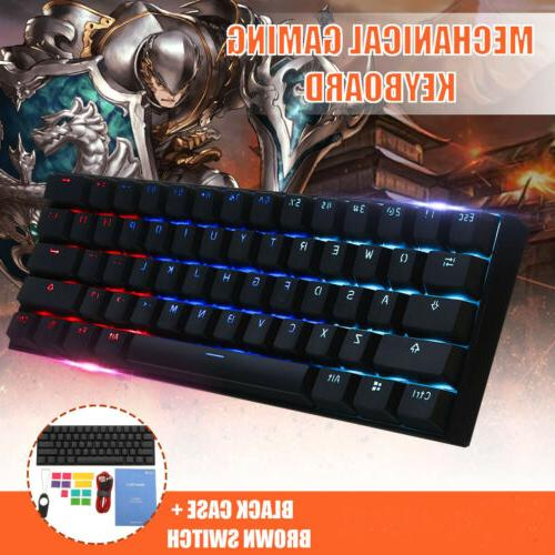 Obins ANNE PRO Gateron Mechanical Gaming Keyboard 61 Keys New