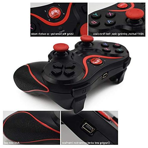 LXWM Controller Bluetooth, Pressure Sensitive Buttons, Analog Motion-Sensing Grips, Recharge, 3 Playstation 3