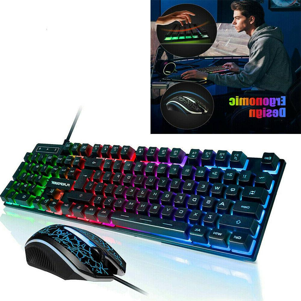 ps4 keyboard mechanical and mouse combo gaming