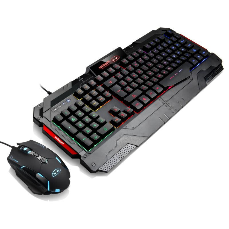 Rainbow Keyboard and Mouse Changing Backlight