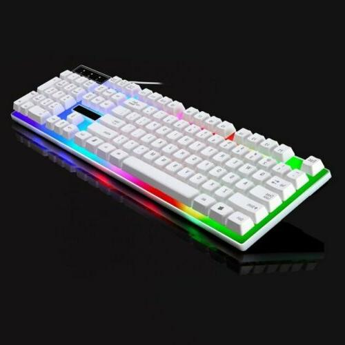 Rainbow Mouse Set for One and Gaming