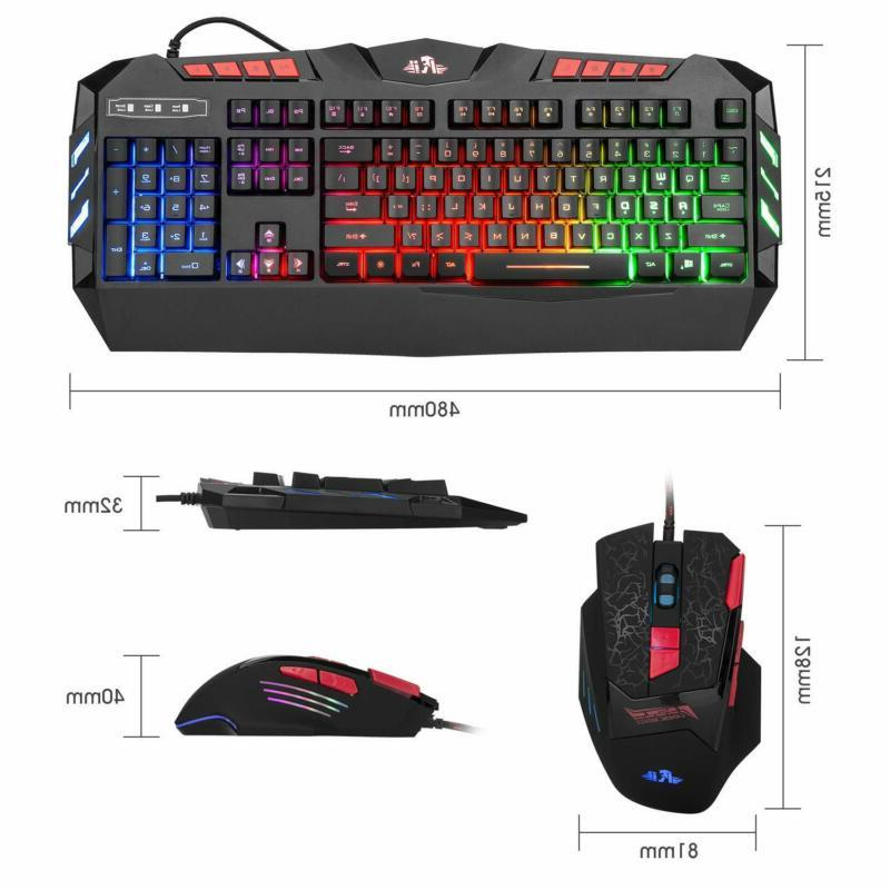 Rii Rgb Led Backlight Wired Gaming Mouse R