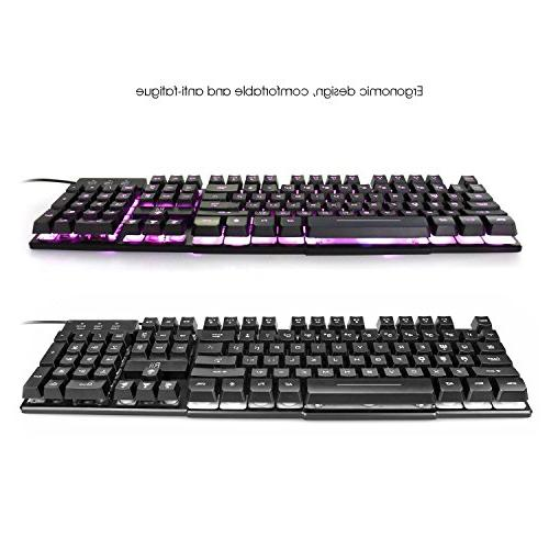 Rii RK100 LED USB Wired Multimedia For working gaming