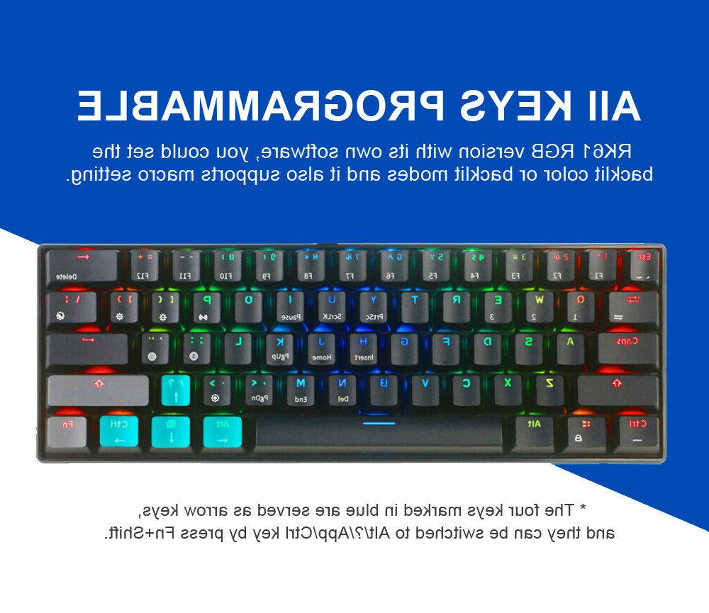 Royal Kludge bluetooth Wired RGB Gaming