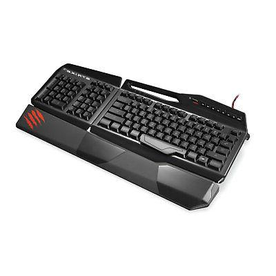 Mad Catz S.T.R.I.K.E. RGB Lighting Programmable Wired Gaming Keyboard