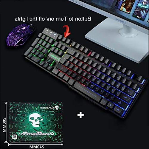 HAHAP Gaming Mouse USB Ergonomic and Mouse PC