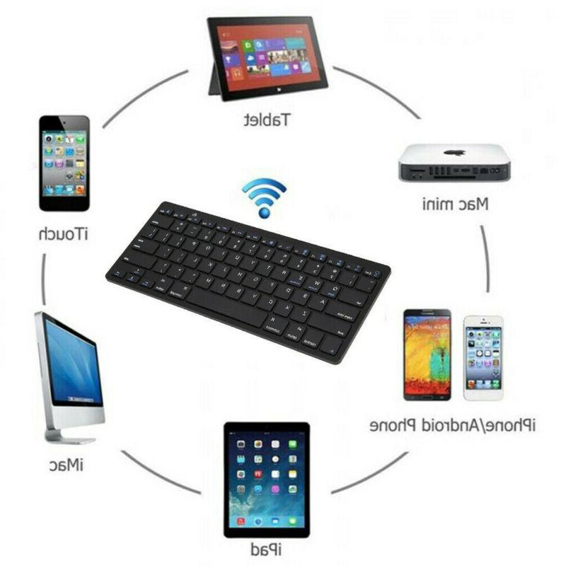 Wireless Keyboard Portable For Computer