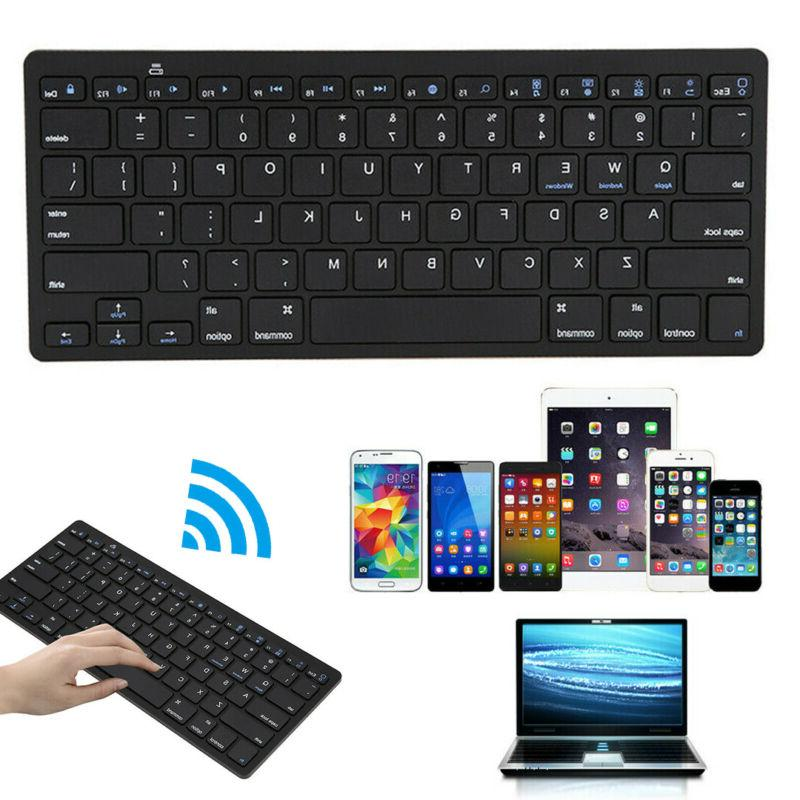 wireless bluetooth keyboard gaming office portable