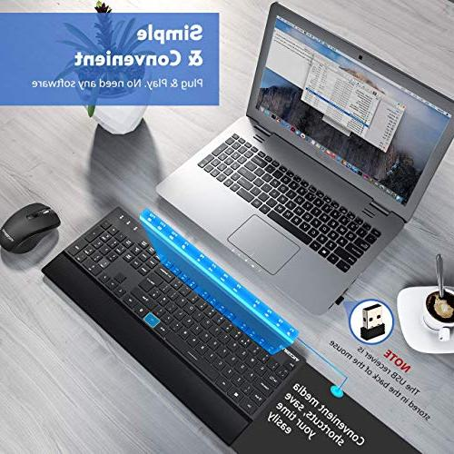 VicTsing and Palm and Mouse, Wireless Desktop