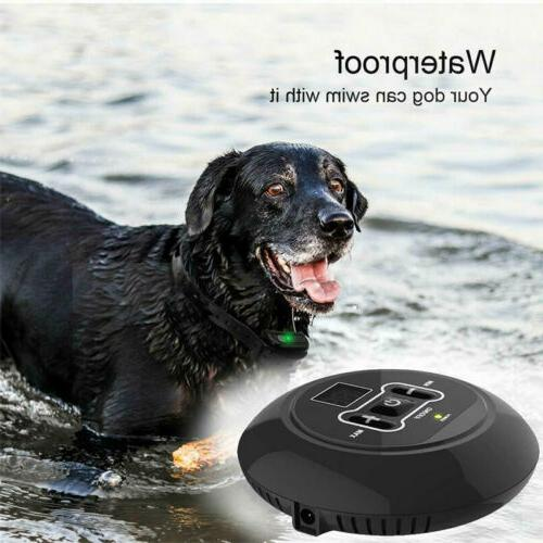 Wireless Electric Fence Pet System Collars For 1/2/3