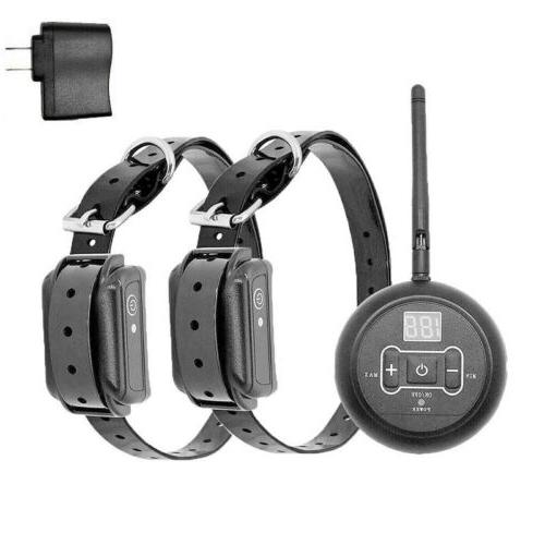 Wireless Dog Fence Pet System Shock Collars For