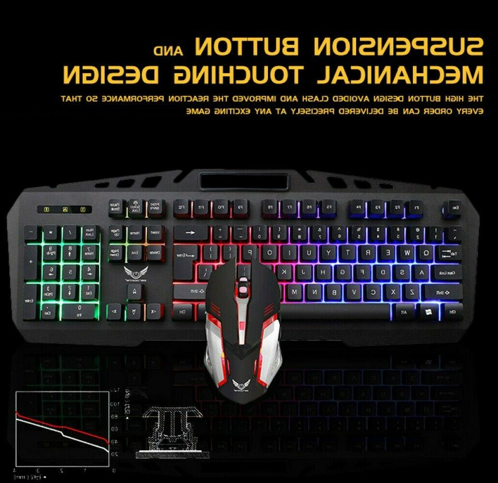 X310 Mechanical Mouse Combo Breathing