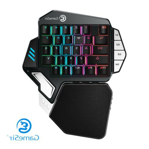 GameSir Z1 Gaming Keyboard Cherry Red Switches One-hand RGB