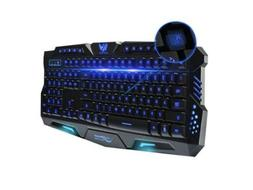 M200 tri-color backlit gaming keyboard mechanical touch wire