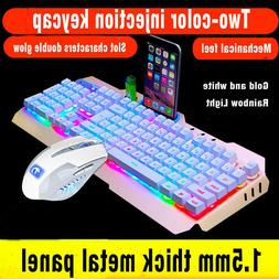 Echnology M398 Wired Backlit Usb Pro Gaming Keyboard and Wir