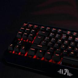 mechanical gaming backlit keyboard k63c usb wired