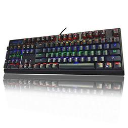 Mechanical Gaming Keyboard 104 Keys, Anti-Ghosting Keyboard