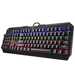 VicTsing Mechanical Gaming Keyboard USB Wired Keyboard, All-