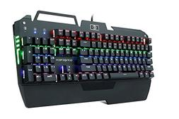 KrBn Mechanical Keyboard Gaming Keyboard Full Sized Backlit