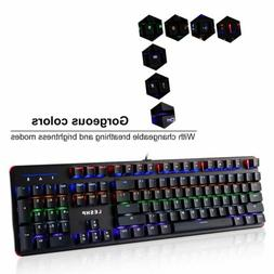 Mechanical Wired Gaming Keyboard Mouse Set Backlight For for