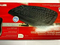 Microsoft Wireless Optical Desktop 1000 Keyboard + Optical M