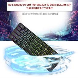 Exiao MOTOSPEED CK61 Gaming Mechanical Keyboard with Kailh B