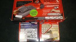 NEW IN BOX Ideazon ZBOARD Gaming Keyboard PS/2 In Box W EXTR