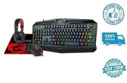 New Redragon Pro Gaming Keyboard & Mouse Combo W/ Mouse Pad