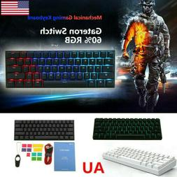Obins ANNE PRO 2 Gateron Switch 60% RGB Mechanical Gaming Ke