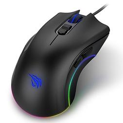 Havit Programmable Gaming Mouse 4000DPI 7 Buttons RGB Backli