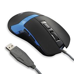 SADES Q9 Gaming Mouse 3200 DPI Wired USB PC Gaming Mice, 6 B