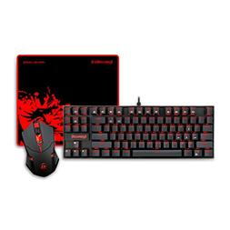 Redragon K552-BA Gaming Mechanical Keyboard, M601 Gaming Mou
