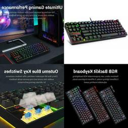 Redragon K552-Rgb Mechanical Gaming Keyboard 87 Keys Small C