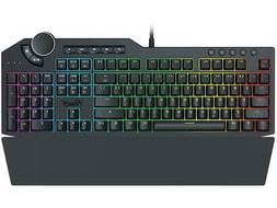 RGB Mechanical Gaming Keyboard, Brown Switches/USB Passthrou