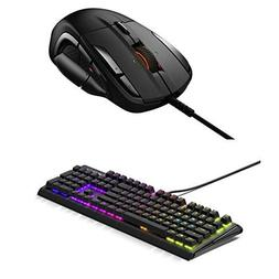 SteelSeries Rival 500 Mouse and Apex M750 Keyboard Bundle