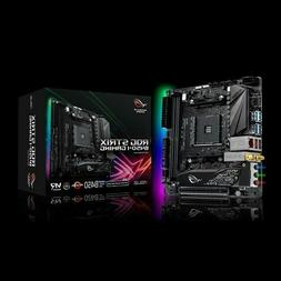 ASUS ROG Strix B450-I Gaming Motherboard  AMD Ryzen 2 AM4 DD