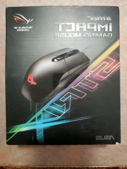 ASUS ROG Strix Impact Optical MOBA Gaming Mouse with Aura RB