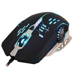 Sades S7 Wired Gaming Mouse,4 Adjustable DPI Levels,6 Circul