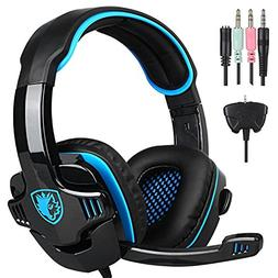 Sades PS4 Gaming Headset for New Box one/ PS4/ PC/iOS/Comput