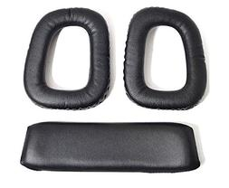 Mokoo Soft Replacement Ear Pads Cushion For Logitech G35 G93