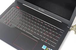 """Leze - Ultra Thin Keyboard Cover Skin for 15.6"""" ASUS FX503 F"""
