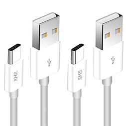 USB Type C Cable, Asstar Type C to Type A 2Pack 3ft  Durable