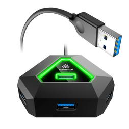 ineo USB Hub 3.0 4-Port For Razor Gaming Mouse Keyboard and